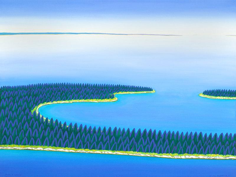 Distant Island                                                  ©Eric Hopkins 2012