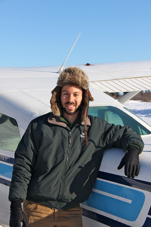 Tomas Sowles – Purdue University graduate Tomas Sowles has been a pilot for 7.5 years, earning his license at 18.  From North Yarmouth, Maine, Sowles has been flying with PIA for three years.  PIA employs 12 pilots, five fulltime and the rest seasonal.]